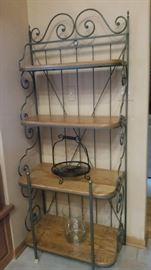 Bakers rack - 4 shelves - 2 approximately 15""