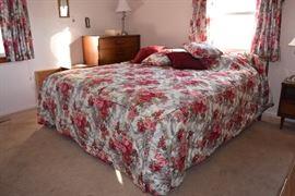 king size bedroom set - Basset