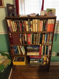 Great Reading!   Nice Bookshelves for sale also.