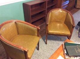 Four wonderful Retro Barrel or Pub Chairs - Great Shape
