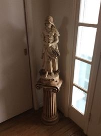 Statue and stand