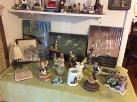 Lighthouse prints, miniatures, mugs, art, lamps, trash cans, - anything and everything lighthouse!