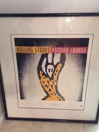 Rolling Stones, Voodoo Lounge  913/1000 print