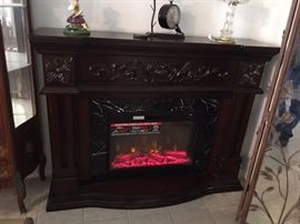 Brand new, Electric fire place, paid over $1,500.00