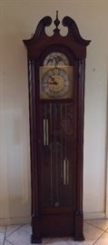 Grandfather Clock. Colonial Manufacturing Co. Zeeland, Michigan.
