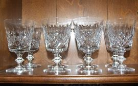 ASSORTED CRYSTAL STEMWARE