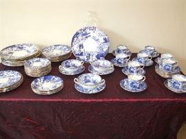 ASSORTED ROYAL DERBY CHINA.