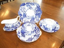 ROYAL DERBY CHINA SERVING PIECES, SOLD SEPERATELY