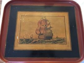 Lovely antique tray.