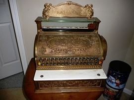 National Antique Cash register