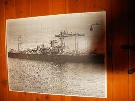 WW2 USS ANCON SHiP