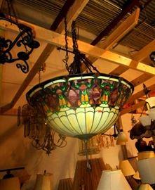 TIFFANY LAMP---HUGE