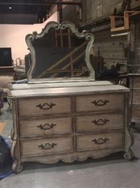 Hooker furniture Dresser with Mirror, New in Box