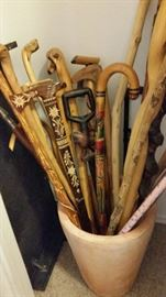 Lots of Cool Canes/Walking Sticks
