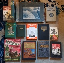 A sampling of some of the many interesting books