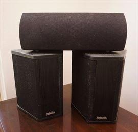 Definitive BP-1.2X speakers and a ProCinema Pro 100 center speaker