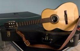 Vintage Gianni 6-string guitar w/org. case