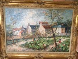 Kardin (Austrian artist) oil painting.