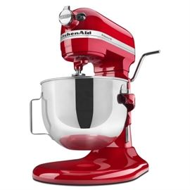 KitchenAid Professional HD Series 5 quart bowl-lift stand mixer High performance 525 watt motor, commercial style, direct drive all steel gear transmission