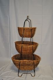 3 Tier Basket Storage