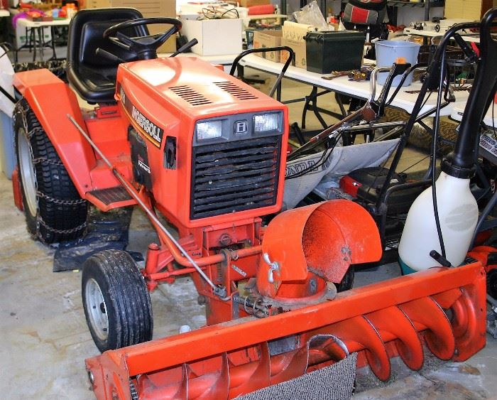 Ingersoll 4020 Tractor, Snow Thrower