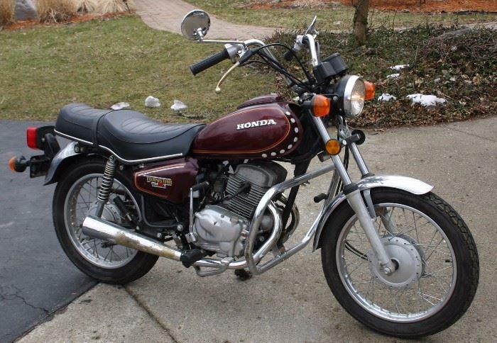 : Honda Twinstar CM200T Motorcycle (8132Miles)