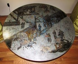 Please call 586-405-8508 To make a phone offer on this beautiful Chan Table by Philip & Kelvin LaVerne