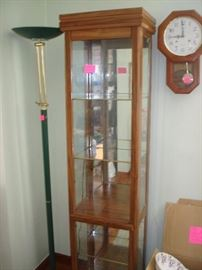 Display Cabinet and Clock