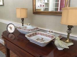 Antique Chinese export porcelain, circa 1820's