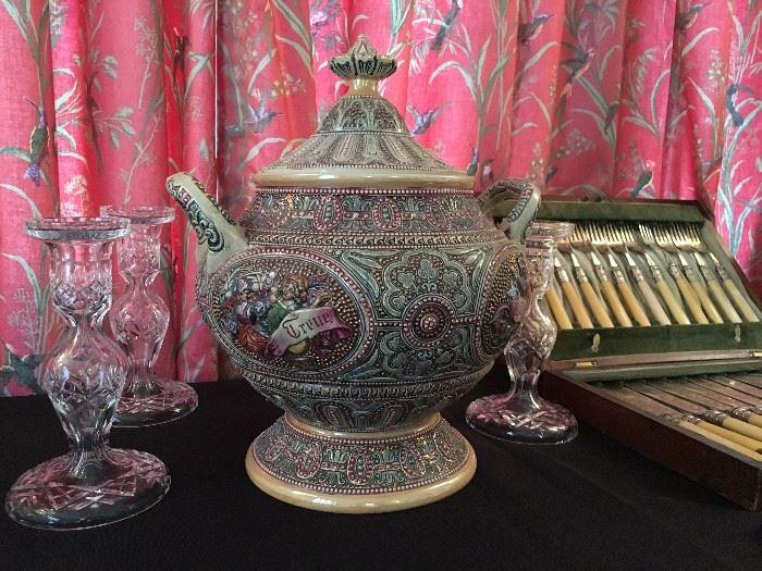 German Mulled Wine Pot