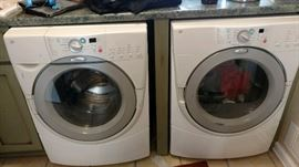Great front loading HE washer and dryer
