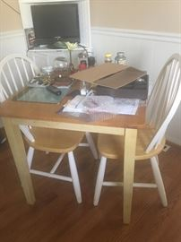 $150 for table and chairs