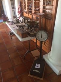 More antique scales!