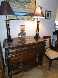 French style Bombe chest