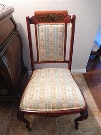 Dutch influence chair 19th century