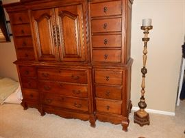 Armoire in Master Bedroom