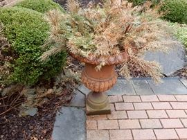 One of 3 decorative planters for your yard