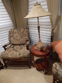 These chairs have a ladder back with down filled cushions another exceptional display of beauty