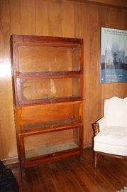 Globe-Wernicke antique Barrister's bookcase