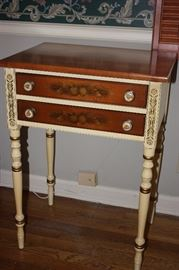 Hitchcock 2 drawer nightstand