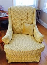 Vintage Upholstered Chair