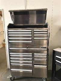 Kobalt Double Stainless Steel Toolbox