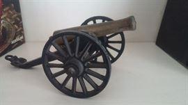 Collectible Iron & Brass Canon