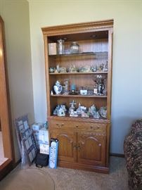 2 of 2 Lighted Display Bookcase