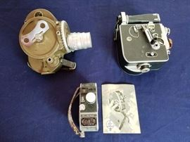 """Bell & Howell DR70 """"Filmo""""--the camera that filmed the combat footage in Viet Nam."""