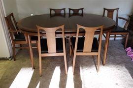 Mid Century dining set.
