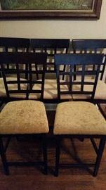 7 newly upholstery chairs