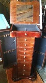 Jewerly Cabinet - Inside