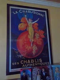 la chablisienne framed poster
