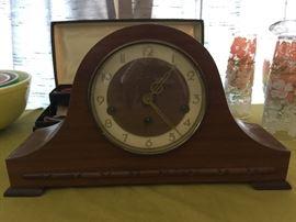 Vintage Welby mantle clock